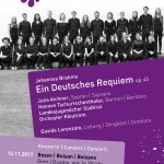 """Brahms """"Ein Deutsches Requiem"""", 19.11.2017, Schlanders"""